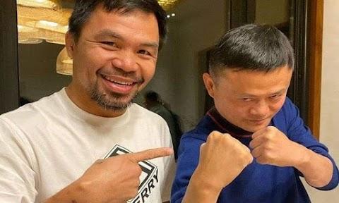 Senator Manny Pacquiao, Jack Ma Donates 50,000 Testing Kits for COVID-19