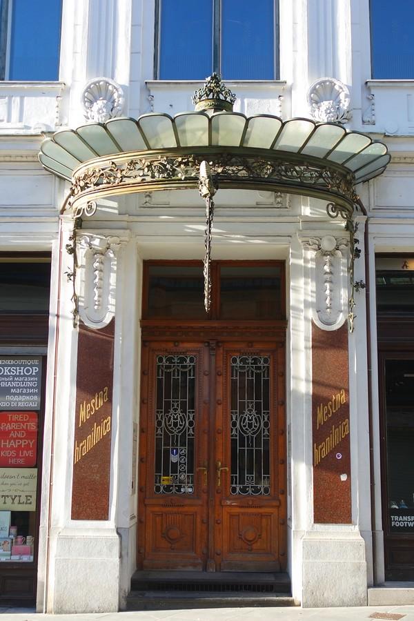 ljubljana art nouveau mestna hranilnica ljubljanska caisse d'épargne