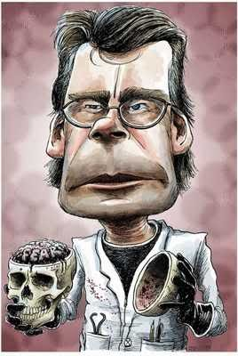 Steven King Cartoon