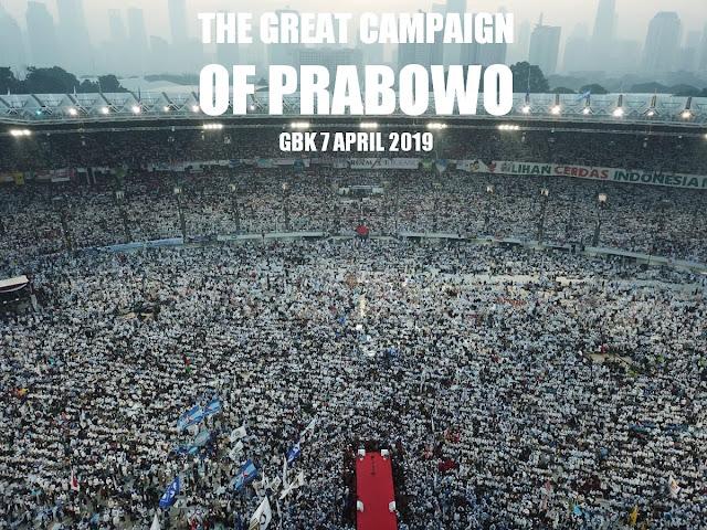 Kampanye Akbar Prabowo di GBK Membungkam Kubu 01, Secara <i>de facto</i> Jokowi Sudah Kalah