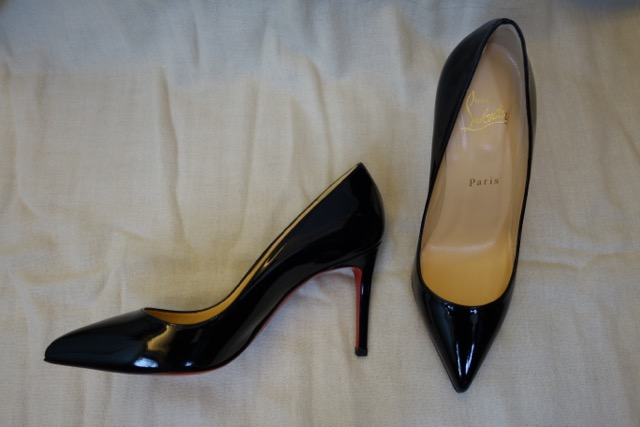 louboutin pigalle 85mm black
