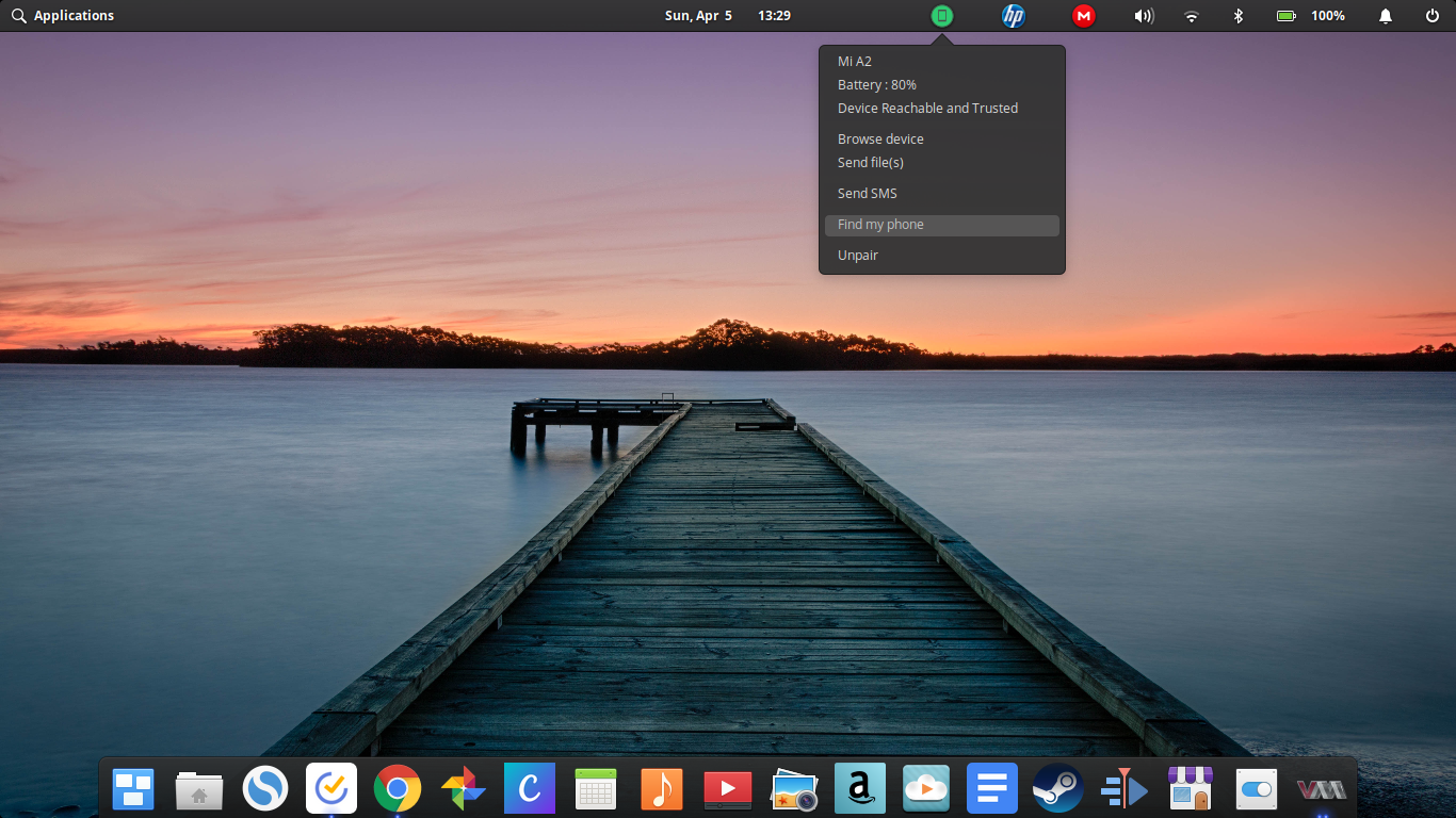 elementary os kde connect fixed