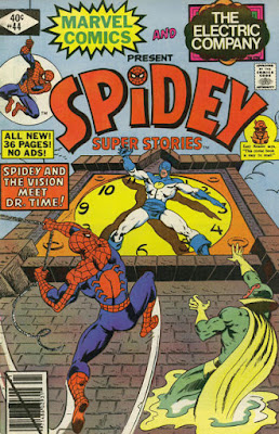 Spidey Super Stories #44, Dr Time