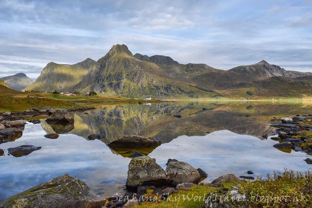 挪威,  羅浮敦群島, lofoten island, norway
