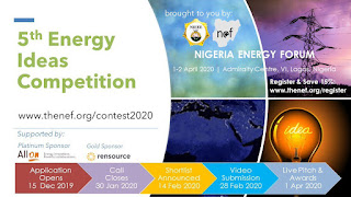 NEF 5th Energy Innovation Challenge Competition 2020 [Win $5000 Funds]