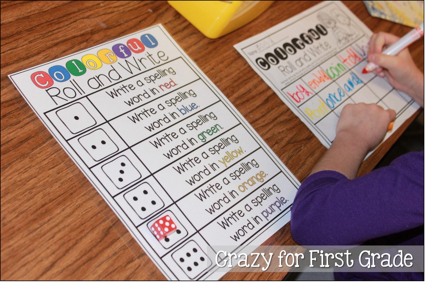 Crazy For First Grade Word Work Stations