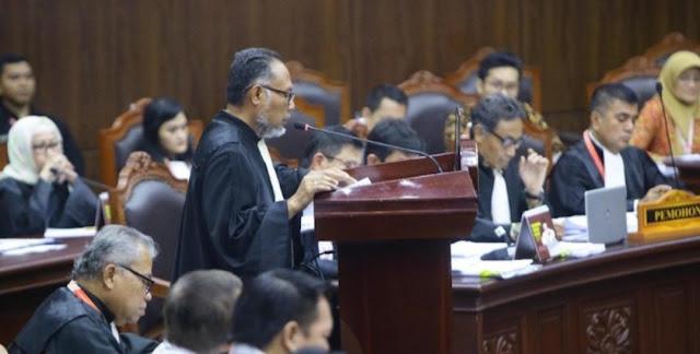 Tolak Permohonan 02, Hakim MK Tegaskan Tidak Ada Landasan Hukum Saksi MK Dilindungi LPSK