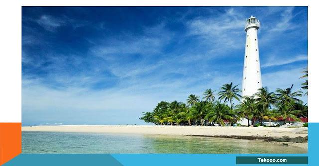 Destinasi wisata di Pulau Lengkuas Belitung
