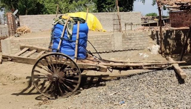 कोत्तलवाडीच्या ग्रामसेवक, संबंधिताच्या नाकर्तेपणामुळ पाण्यासाठी गावकऱ्यांची भटकंती -NNL