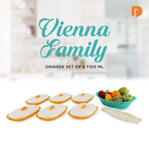 Vienna Family Orange Set 1100 ML (Set of 6)