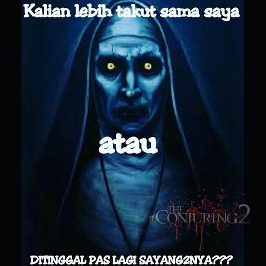 66 Meme Valak bikin Ngakak Gambar2 The Conjuring 2 Gokil