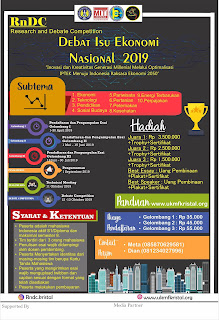 Kompetisi Debat Nasional RnDC (Research and Debate Competition) 2019