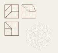 Ejercicio de trazado de la representación isométrica de una pieza a partir de sus vistas principales