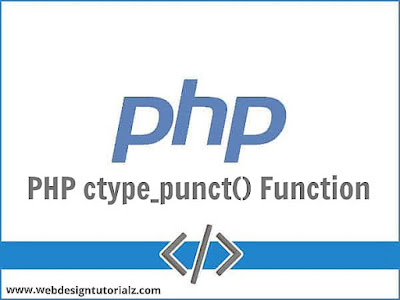 PHP ctype_punct() Function
