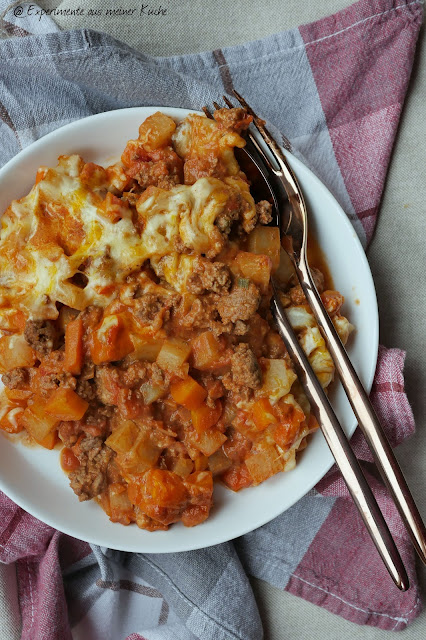 Kohlrabi-Möhren-Gratin mit Hackfleisch | Rezept | Kochen | Essen