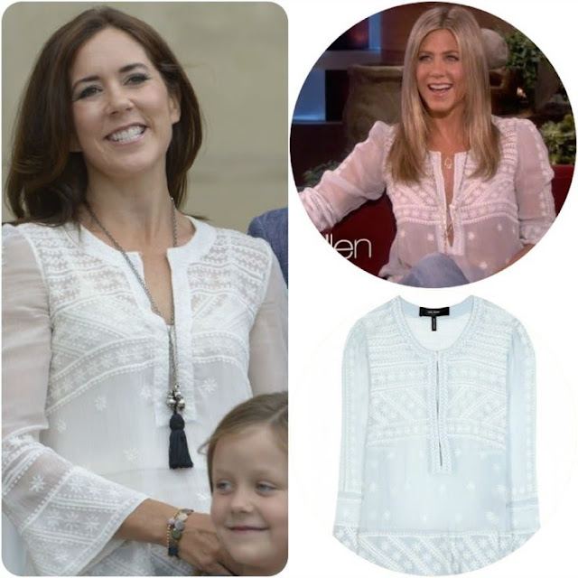 Crown Princess Mary in Isabel Marant