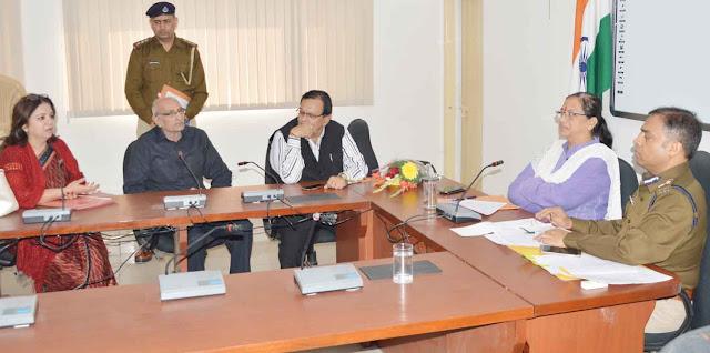 पुलिस आयुक्त डॉ हनीफ कुरैशी ने सुनी पीडित महिलाओं की समस्या
