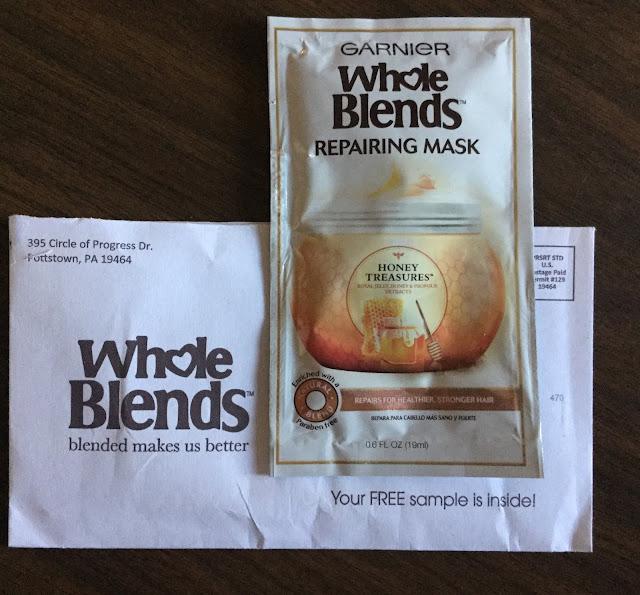 Free Garnier Whole Blends Honey Treasures Sample