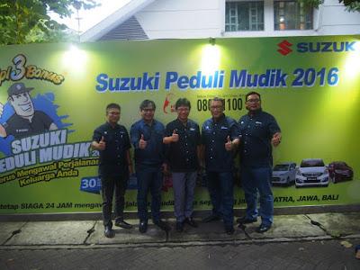 Suzuki Peduli Mudik 2016