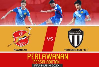 Live Streaming Kelantan vs Terengganu Friendly Match 27.12.2019