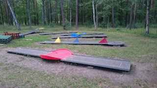 The Play4Score miniature golf course in Riga, Latvia