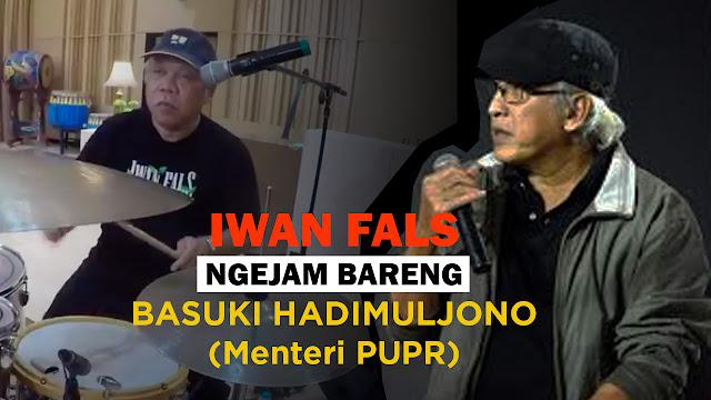 Iwan Fals Ngejam Bareng Menteri PUPR