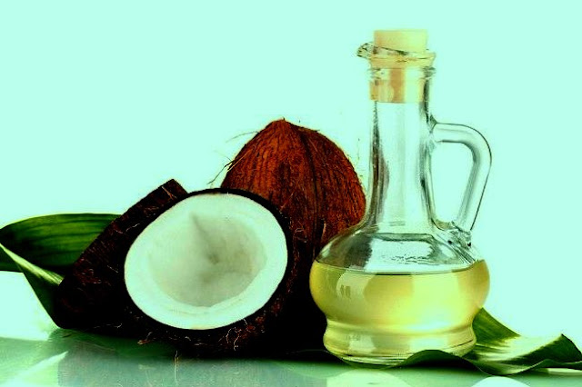 Benefits of coconut oil for hair health and Diet