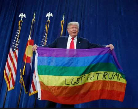 My Administration has launched a global campaign to decriminalize homosexuality - President Trump tweets in celebration of LGBT pride month