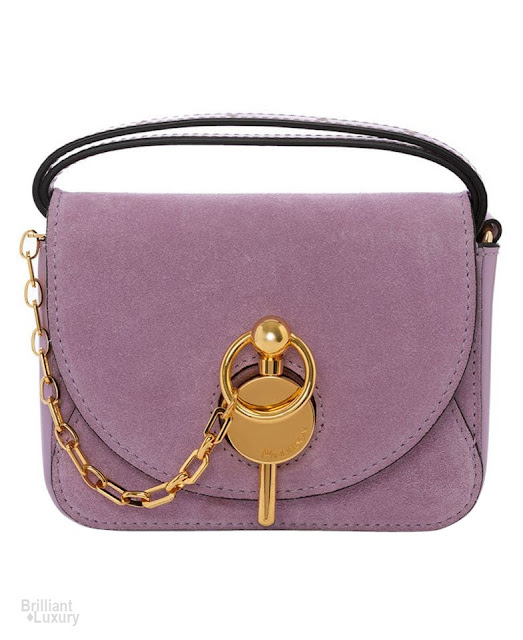 Brilliant Luxury♦JW Anderson Lilac Nano Keyts Bag