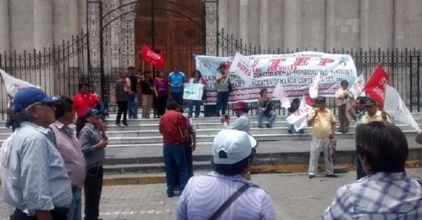GRE Arequipa declara ilegal medidas de protesta anunciadas por el SUTEP para el 12 y 13 de julio
