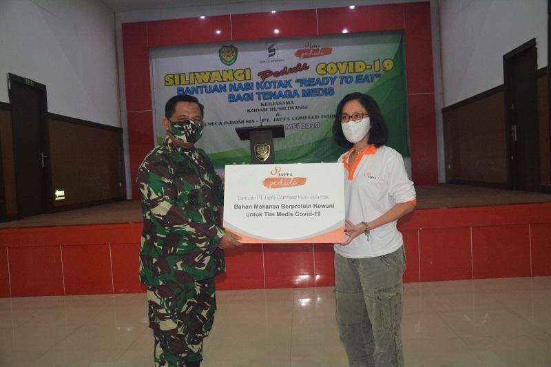 Siliwangi Peduli Covid-19 Beri Bantuan Nasi Kotak Ready To Eat Bagi Tenaga Medis Di 36 Rumah Sakit