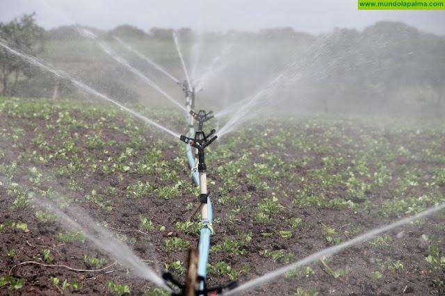 El Cabildo mejorará la red de riego de Garafía y las estaciones depuradoras de Breña Baja y Los Llanos de Aridane