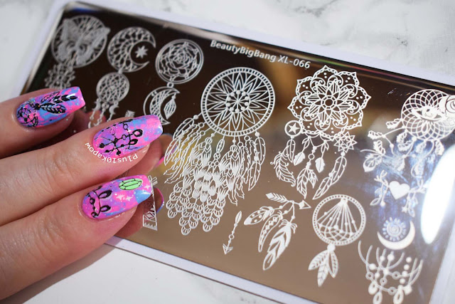 Beauty Big Bang BBBXL-066 stamping plate