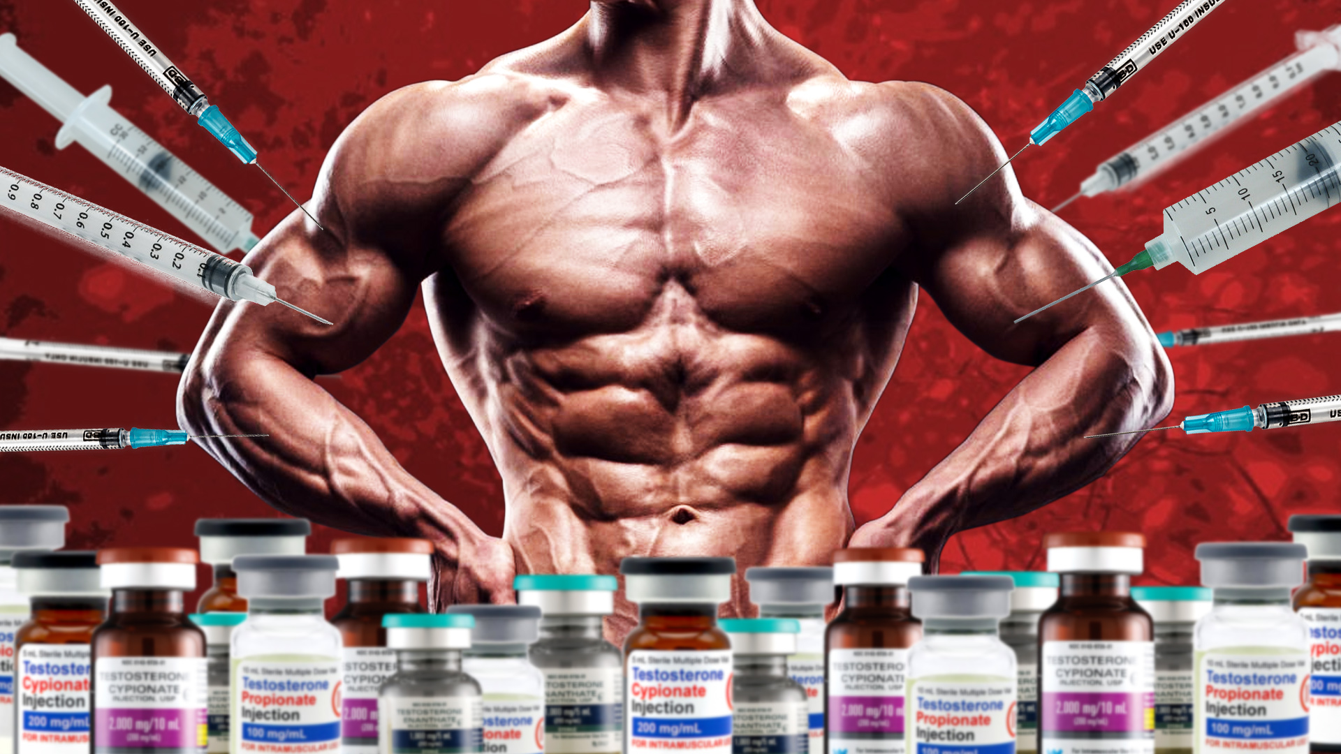 Testosterone for bodybuilding and the harm of its use
