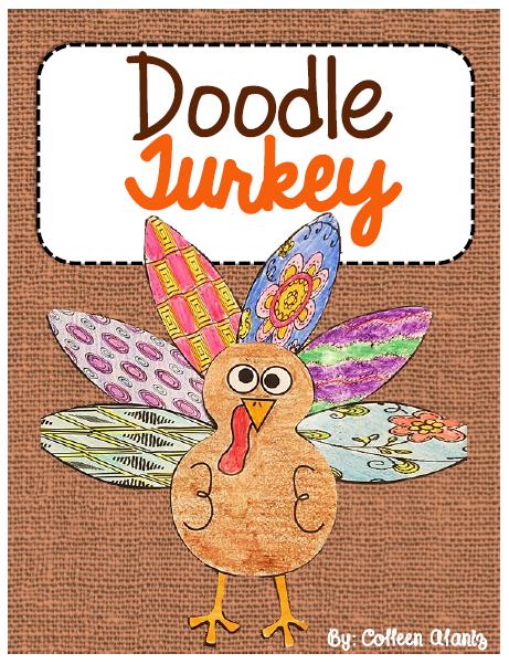 https://www.teacherspayteachers.com/Product/Doodle-Feather-Turkey-2221373