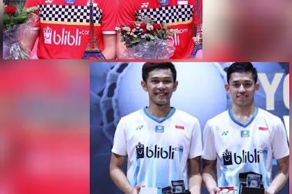 Jadwal perempat final Malaysia Masters 2020, Marcus/Kevin bertemu Fajar/Rian