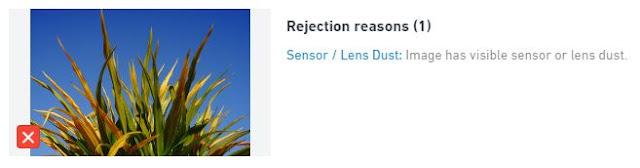 Cara Mudah Memperbaiki Foto yang Ditolak ShutterStock dengan Alasan Lens Dust