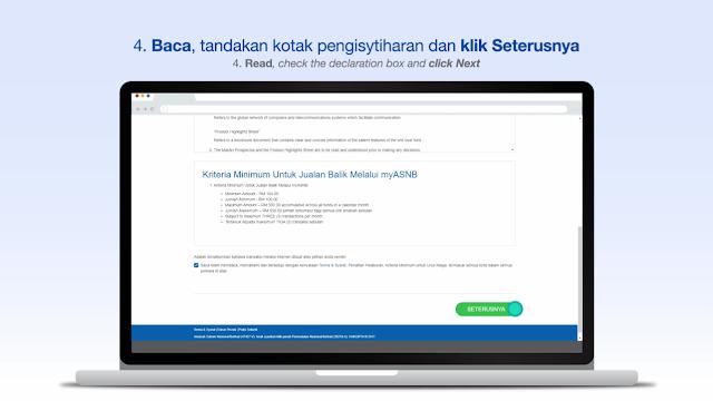 Cara Keluarkan Duit ASB Secara Online