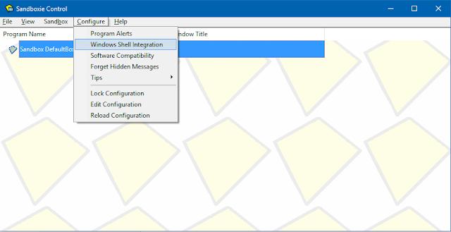 إمنع الفيروسات من التسلل إلى حاسوبك عبر برنامج Sandboxie - عرب