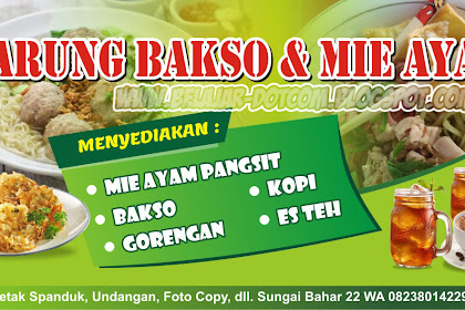 10+ Best For Desain Banner Mie Ayam Cdr