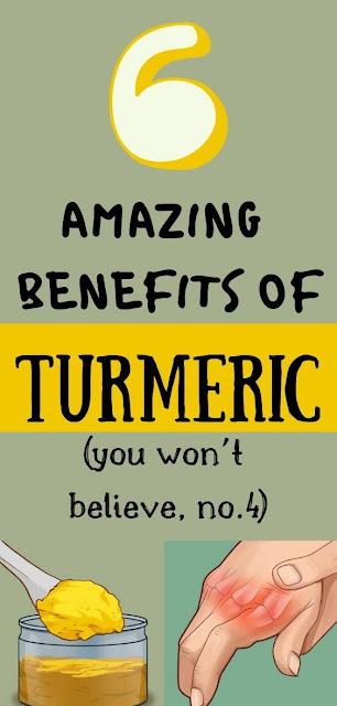 6 Amazing Benefits Of Turmeric