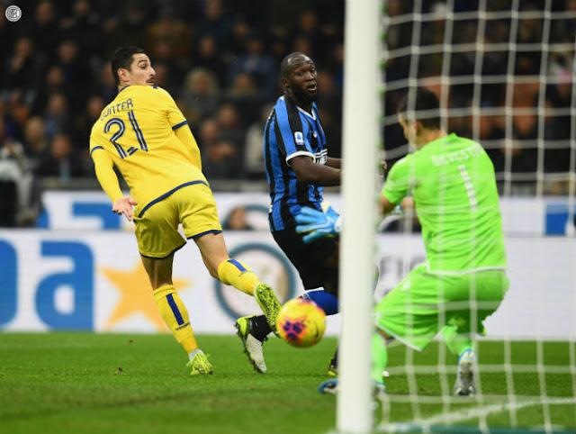 Video Inter Milan 2-1 Hellas Verona: Lukaku vô duyên, vỡ òa nhờ siêu phẩm