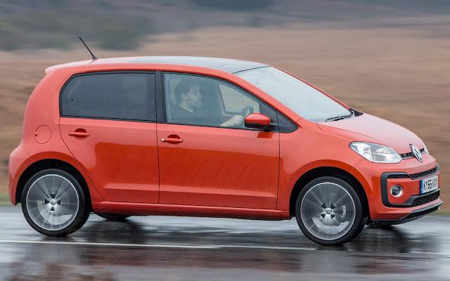 Volkswagen Up! eleito carro urbano do ano 2019 - Inglaterra