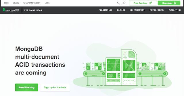 Mongodb Homepage