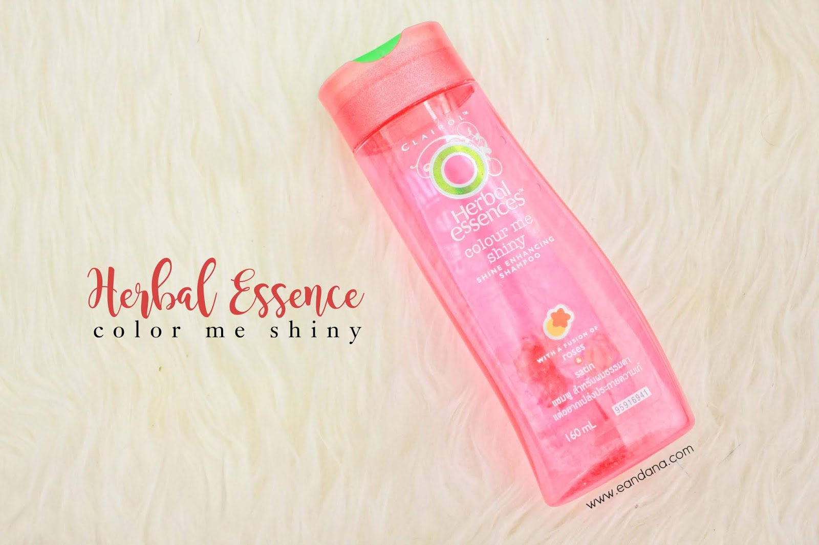 herbal essences colour me shiny shampoo