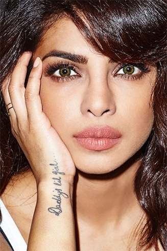 priyanka chopra tattoo photo