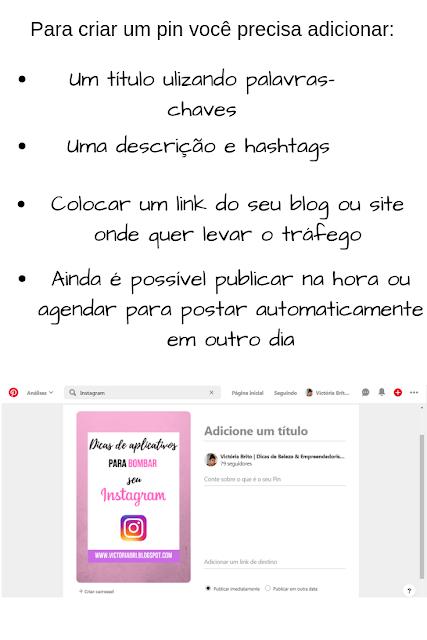 gerar tráfego para o blog usando o Pinterest