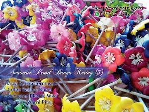 Souvenir Pensil Bunga Kering (Anggrek)