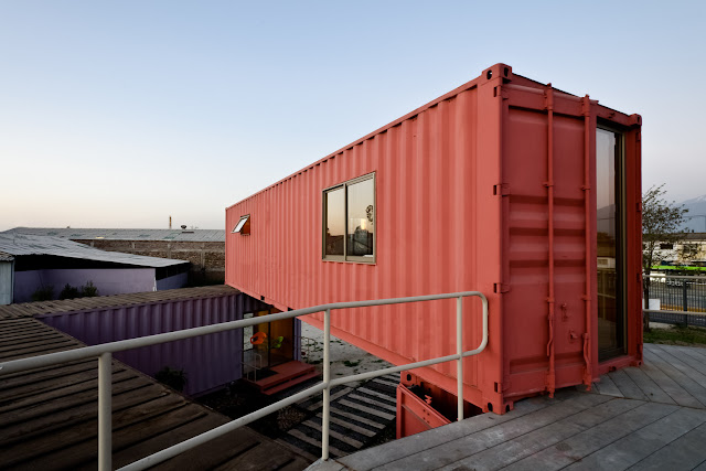 Shipping Container Sale Rooms, Showroom and Offices, Santiago, Chile 12