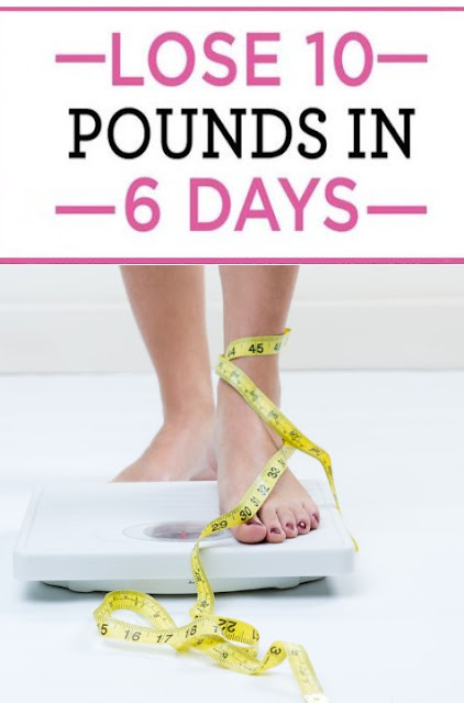 How to lose 10 pounds in 1 week? effective way to lose extra weight